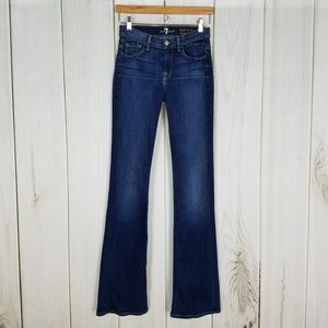 7 For All Mankind | Tall Jeans High Waist Bootcut